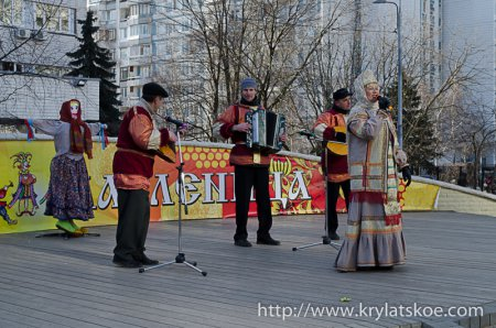 Где в Крылатском проводить праздник, посвященный Дню России?