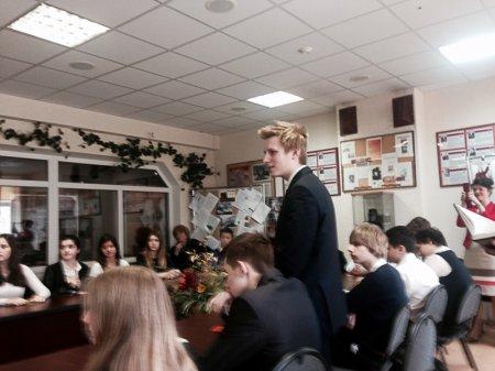 19 мая 2015 года в школе 1440 прошел Урок доверия с актрисой Ольгой Будиной