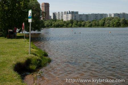 ФОТОРЕПОРТАЖ: Серебряный бор - пляж №2.