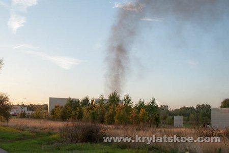 БЛИЦ: вчера 21 сентября 2015 года произошел пожар в Северо-западном тоннеле на проспекте Маршала Жукова