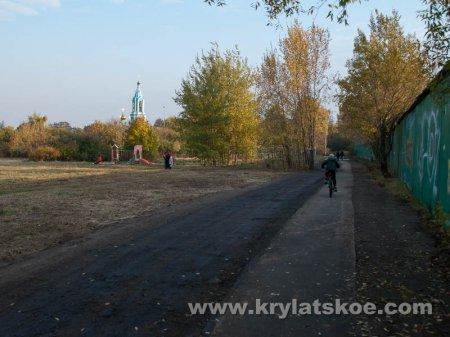 БЛИЦ: новая дорога к храму на Крылатских холмах